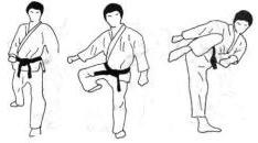 Karate: las patadas Hiza-geri-1